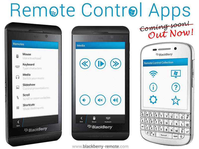 Remote Control Collection für BlackBerry 10